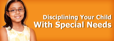 Disciplining Your Child With Special Needs