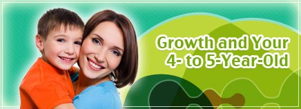 Growth and Your 4- to 5-Year-Old