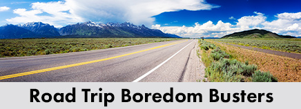 Road Trip Boredom Busters