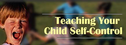 Teaching Your Child Self-Control