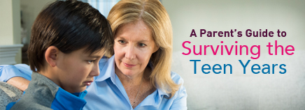 A Parent's Guide to Surviving the Teen Years