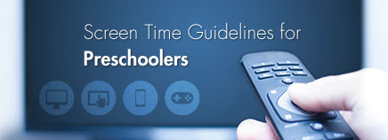 Screen Time Guidelines for Preschoolers