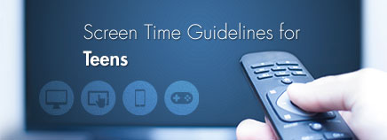 Screen Time Guidelines for Teens
