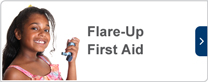 flare-up first aid