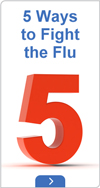 5 ways to fight the flu