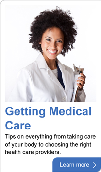 Getting medical care