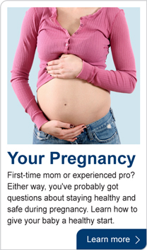 your pregnancy