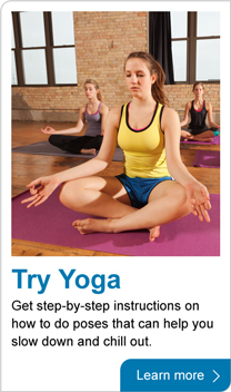 Try yoga