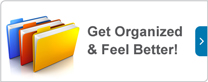 Get organized and feel better