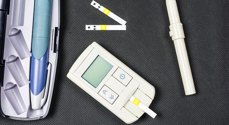 type 1 diabetes test