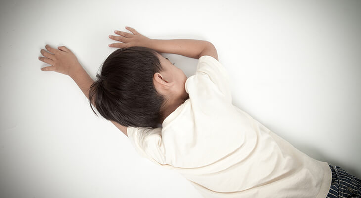 child fainting