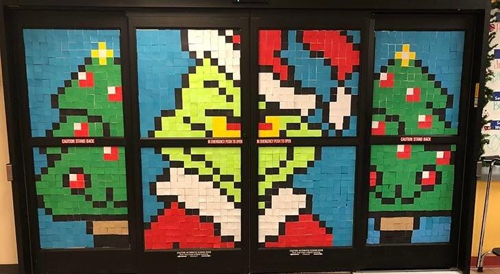 Grinch art norton children's