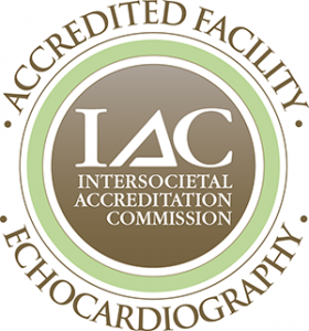 Fetal echo - Seal of echocardiography accreditation by IAC