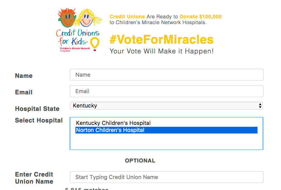 vote for miracles